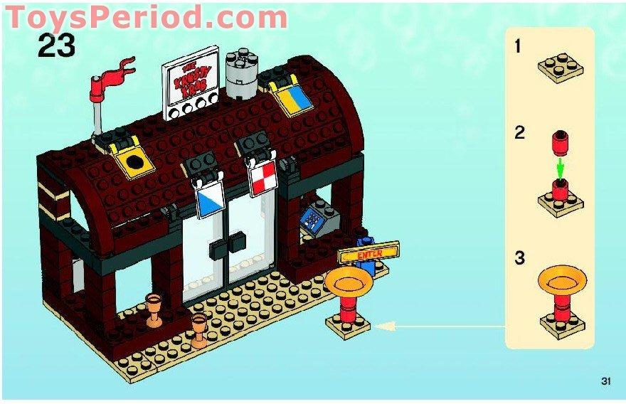LEGO Spongebob Squarepants 3833 Krusty Krab Adventures Complete Figure No Box