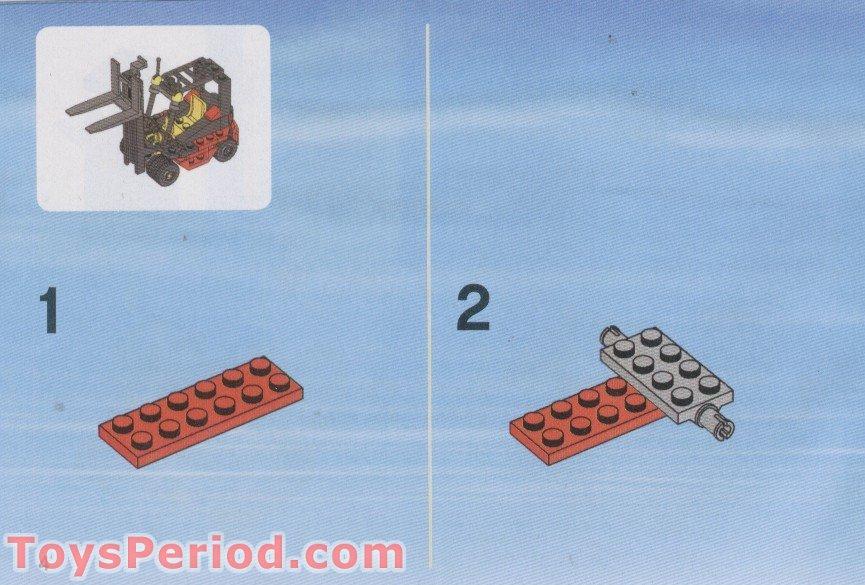 Lego City Cargo Truck 7733 Instructions