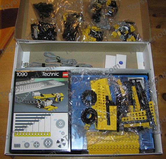 lego 1090 technic control i set parts inventory and instructions lego reference guide. Black Bedroom Furniture Sets. Home Design Ideas