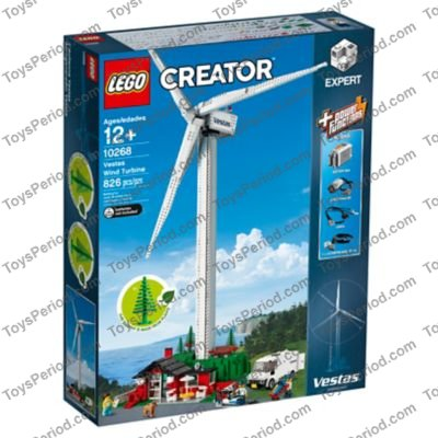 LEGO 10268 Vestas Wind Turbine Set Parts Inventory and Instructions