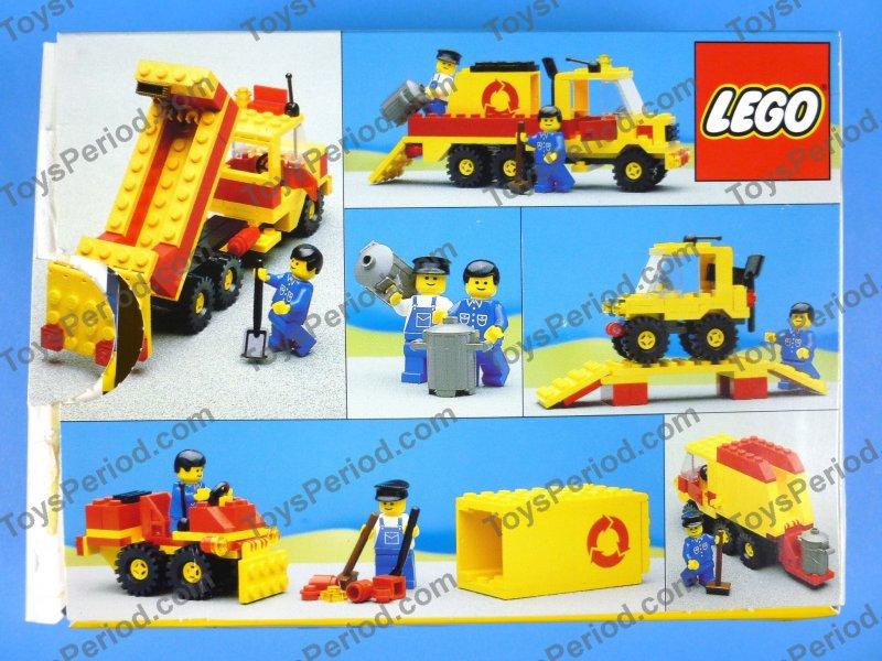lego gas truck instructions