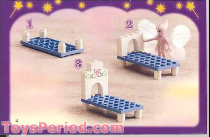 Lego 5823 The Good Fairy S Bedroom Set Parts Inventory And