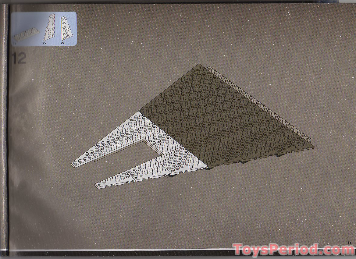 8x Lego Plate 2 x 2 with Holes in Md Stone Light Grey part no 2817