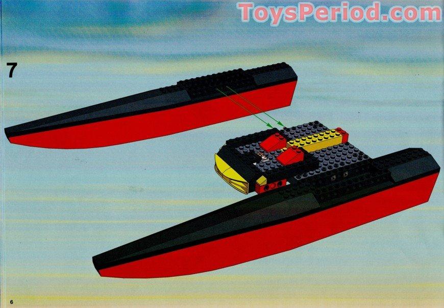 Half Jacket 2 0 >> LEGO 7244 Speedboat Set Parts Inventory and Instructions ...