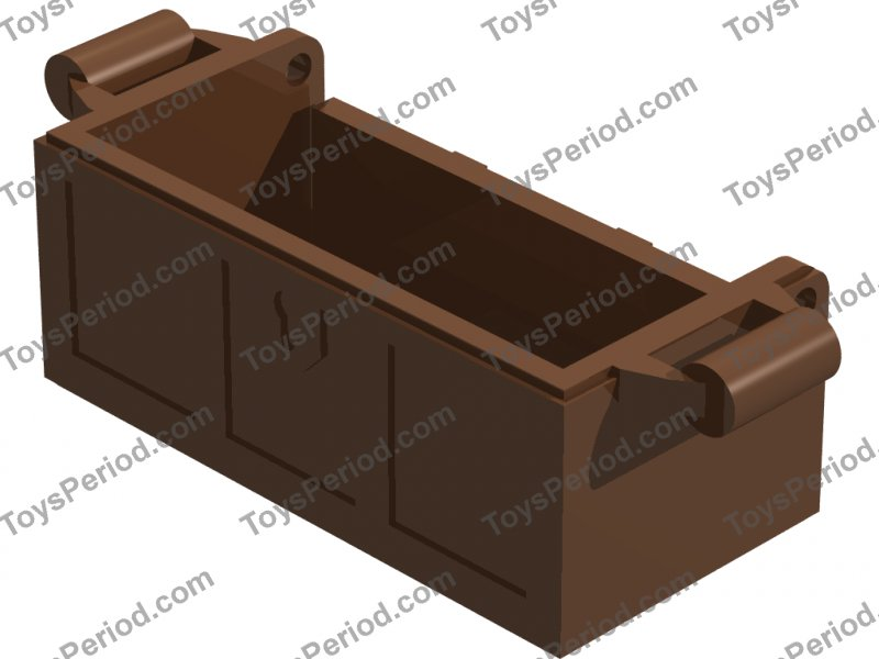 Treasure Chest and Crate ~ Light Brown ~ Minifigure Accessories ~ Lego  ~ NEW ~