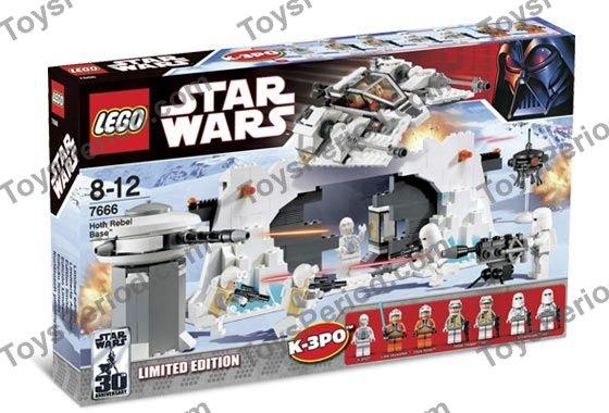 NEW LEGO K-3PO protocol white x1-7666 Hoth Base Head Modified Star Wars