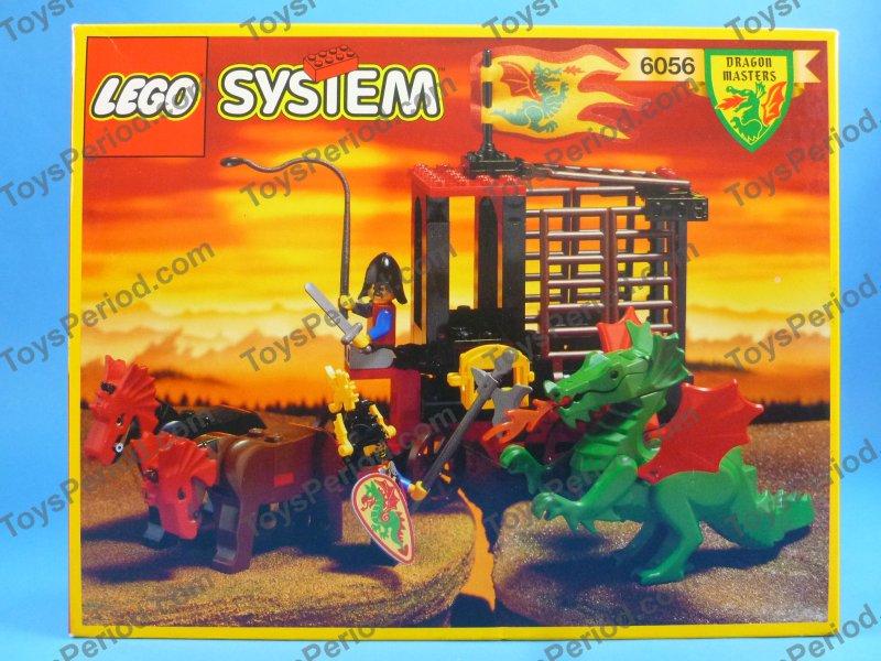 LEGO 6056 Dragon Wagon Vintage 1993 Dragon Knights Sealed at ToysPeriod.com