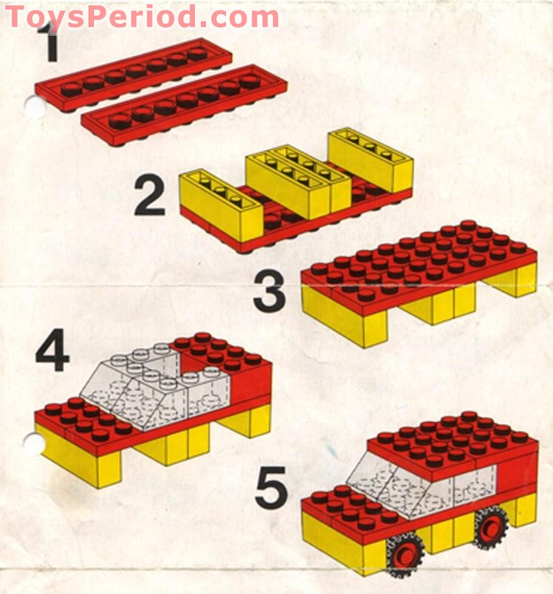 Lego 507 1 basic building set set parts inventory and instructions