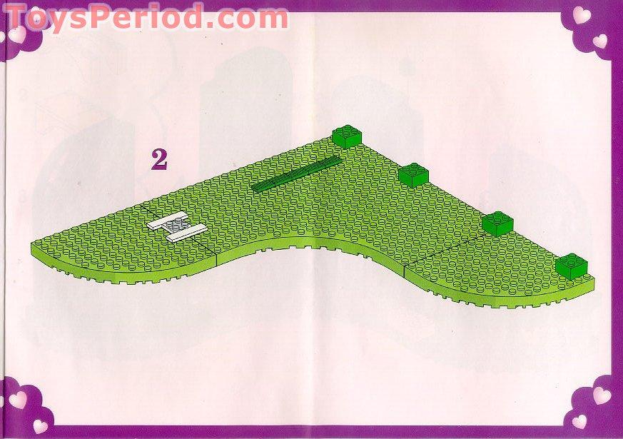 Balançoire LEGO BELVILLE minifig swing for set 5870 Pretty Playland