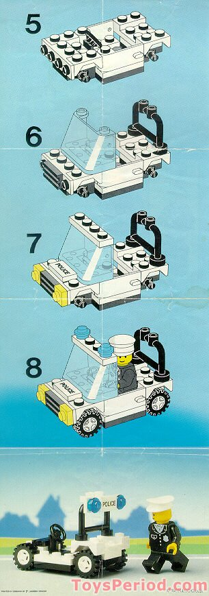 Lego 6506 Precinct Cruiser Set Parts Inventory And