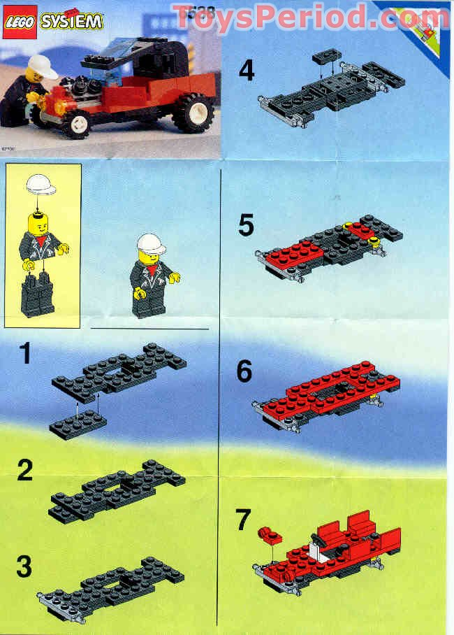 Lego 6538 Rebel Roadster Set Parts Inventory And Instructions Lego