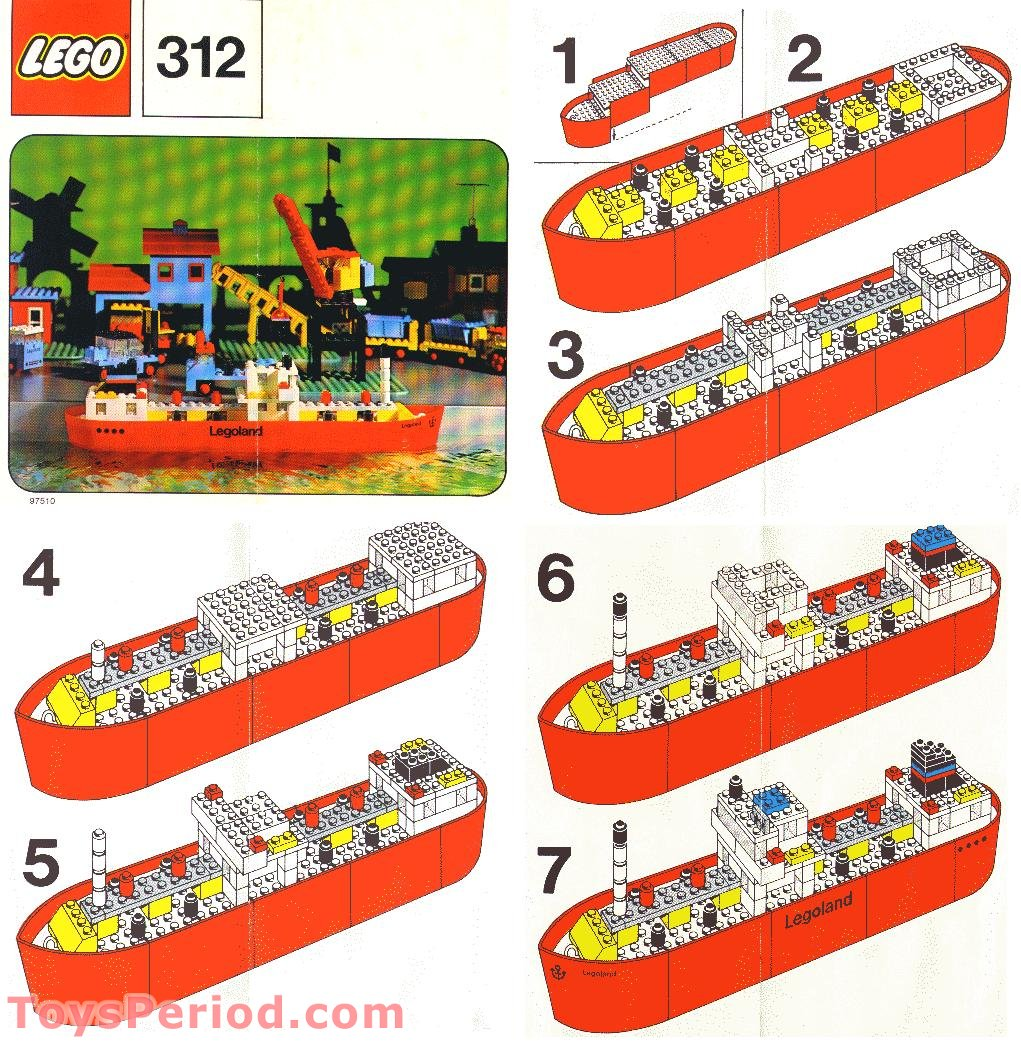 lego 312 3 tanker set parts inventory and instructions lego reference guide. Black Bedroom Furniture Sets. Home Design Ideas
