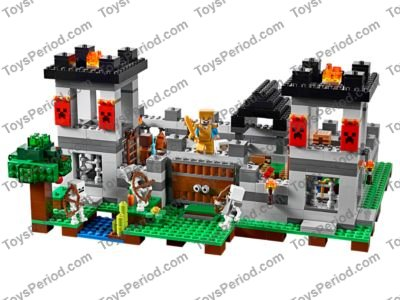 Lego 21127 The Fortress Set Parts Inventory And Instructions Lego