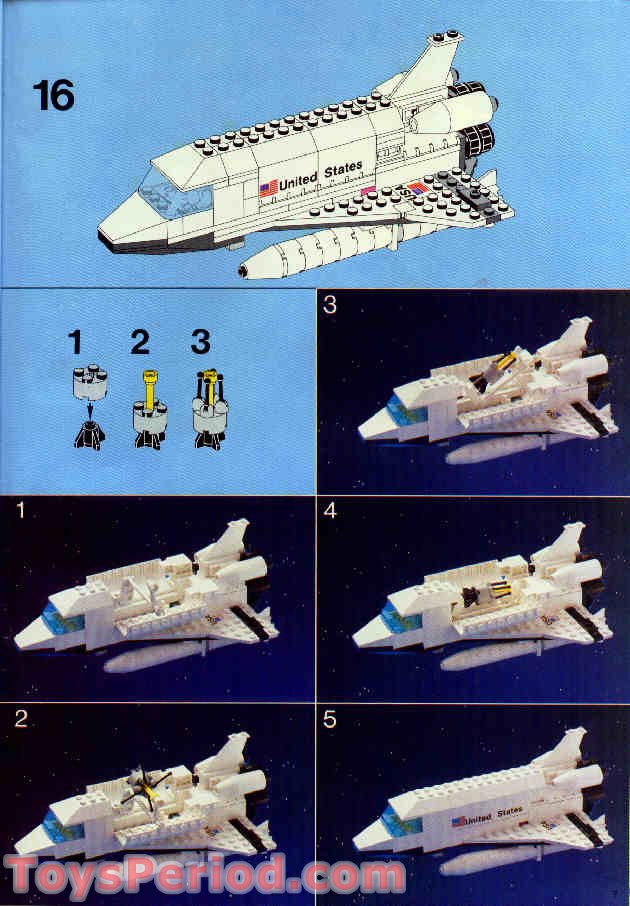 lego space shuttle parts list - photo #3