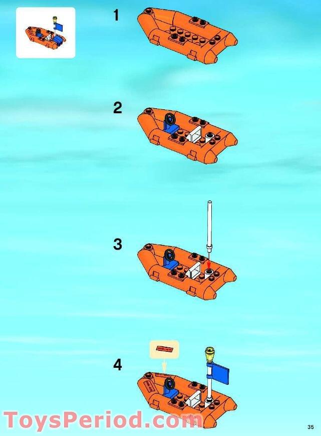 lego coast guard jet ski instructions