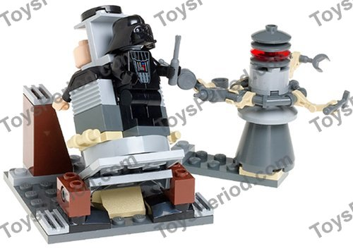 Lego 7251 Darth Vader Transformation Set Parts Inventory And