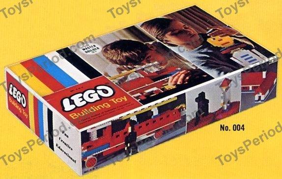 Lego 004 Master Builder Set Set Parts Inventory And