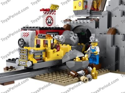 Lego 4204 The Mine Set Parts Inventory And Instructions Lego