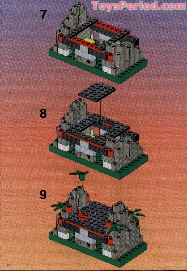 Lego 6089 Stone Tower Bridge Set Parts Inventory And
