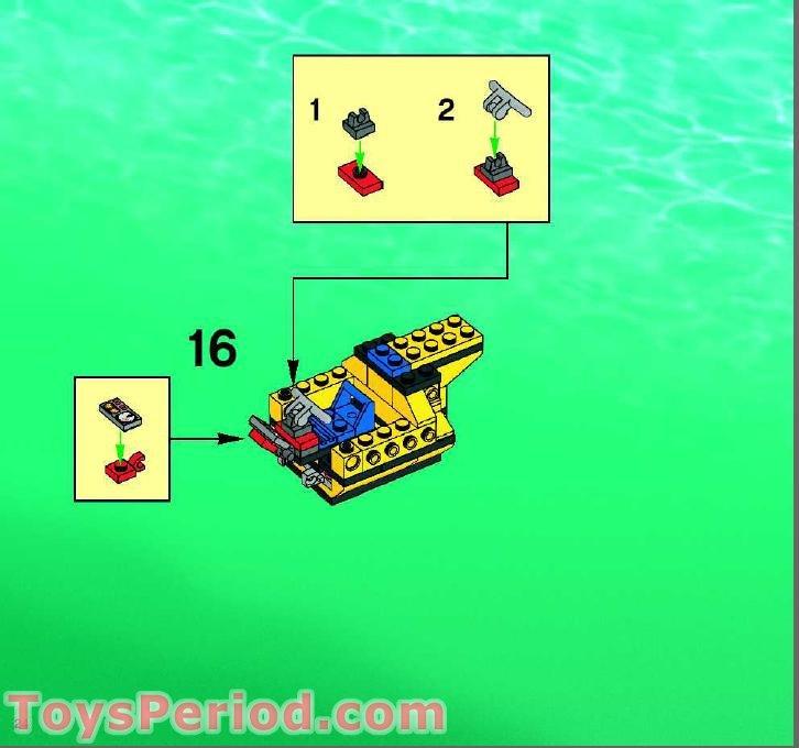 how to build a lego shipwreck