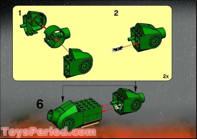 lego general grievous instructions