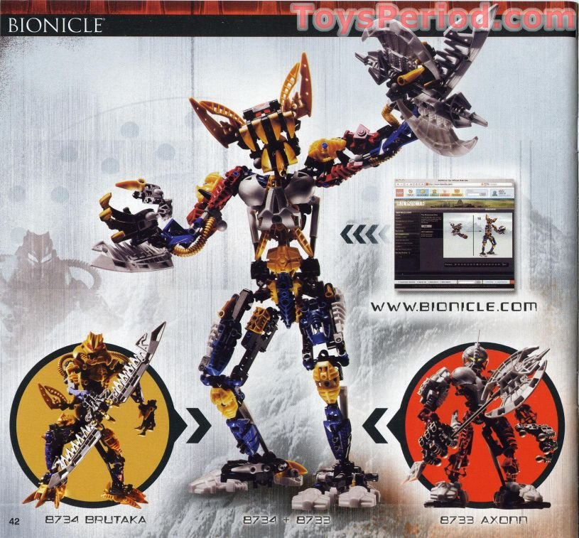 bionicle how to build a titan