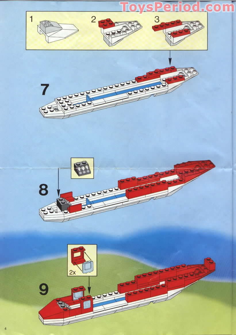 LEGO 6375-1 Trans Air Carrier Set Parts Inventory and ...