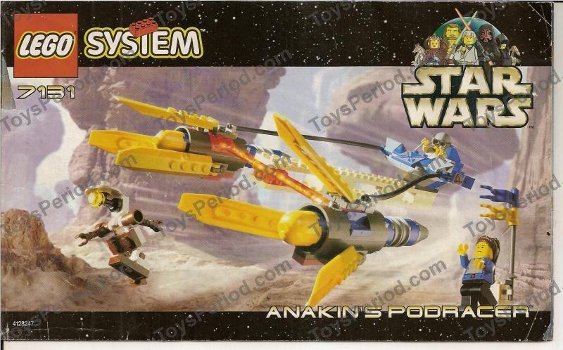 LEGO 7131 Anakin's Podracer Image 3