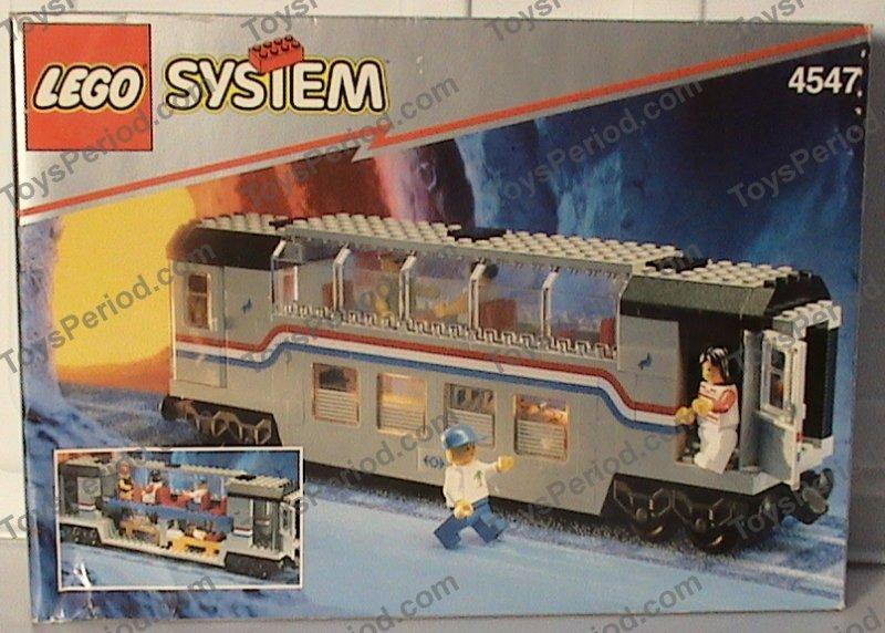 Lego 4547 Railroad Club Car Set Parts Inventory And