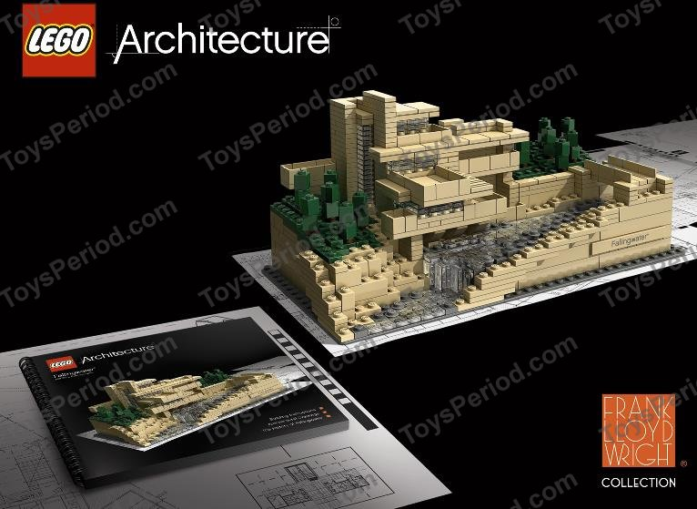 Lego 21005 Fallingwater Set Parts Inventory And Instructions Lego