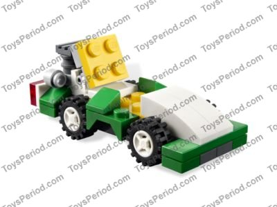 Lego 6910 Mini Sports Car Set Parts Inventory And Instructions