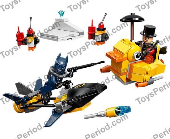 Lego 76010 Batman The Penguin Face Off Set Parts Inventory And