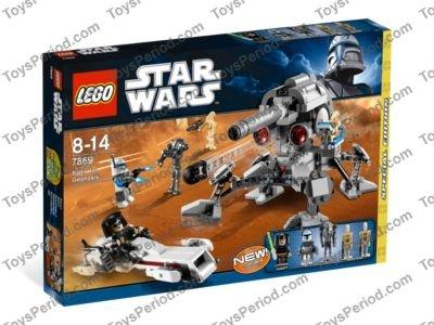 LEGO Lot of 2 Metallic Silver Battle Droid Arm Pieces