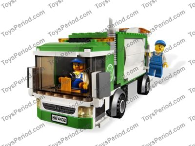 Lego 4432 Garbage Truck Set Parts Inventory And Instructions Lego