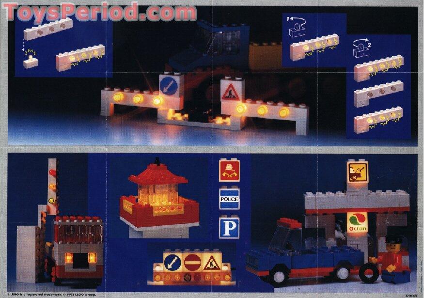 LEGO 846 Lighting Bricks Set Parts Inventory and Instructions ...