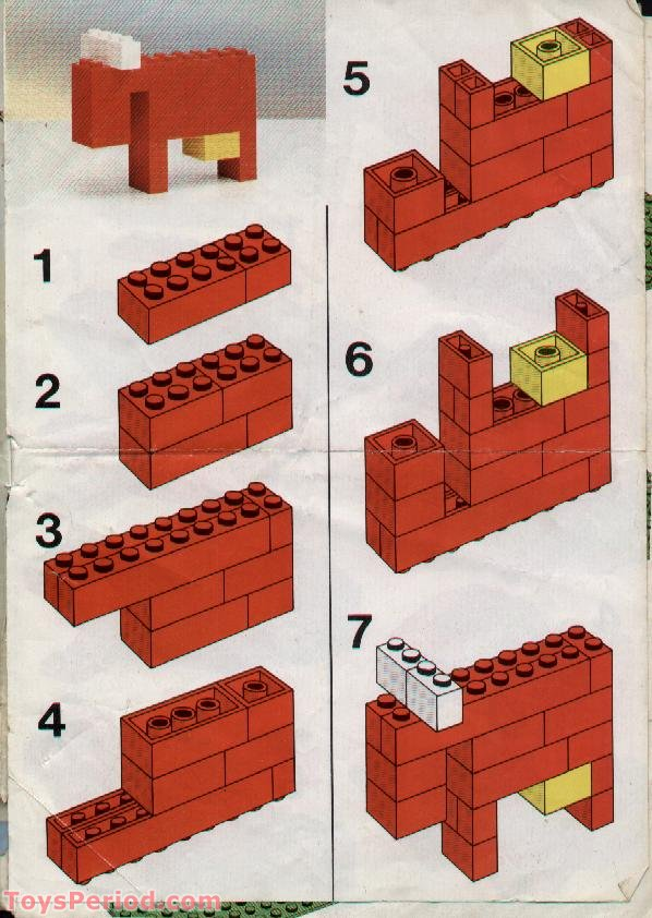 Lego 544 Universal Building Set Set Parts Inventory And Instructions