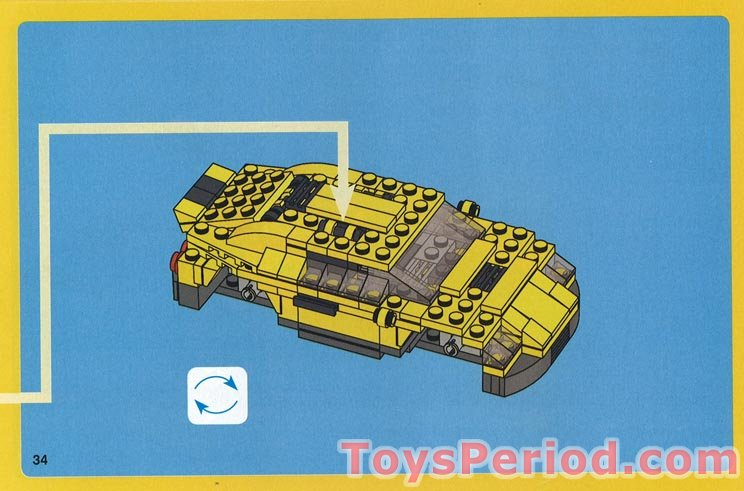 Lego 4939 Cool Cars Set Parts Inventory And Instructions