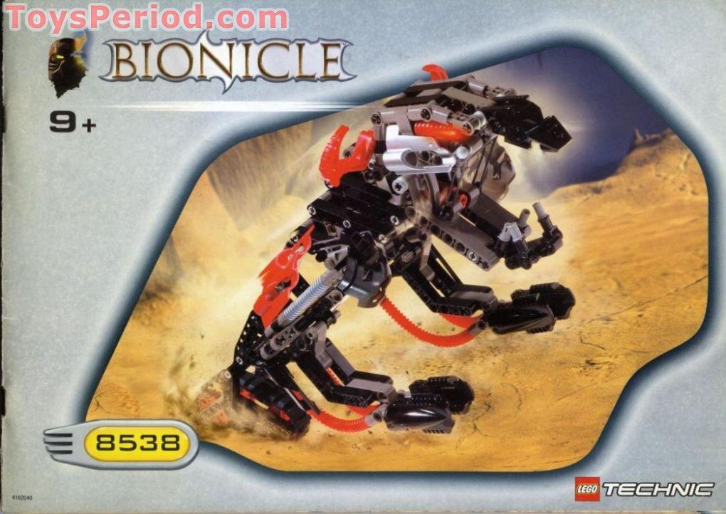 New And Sealed Lego bionicle 8538 Muaka /& Kane Ra from 2001!
