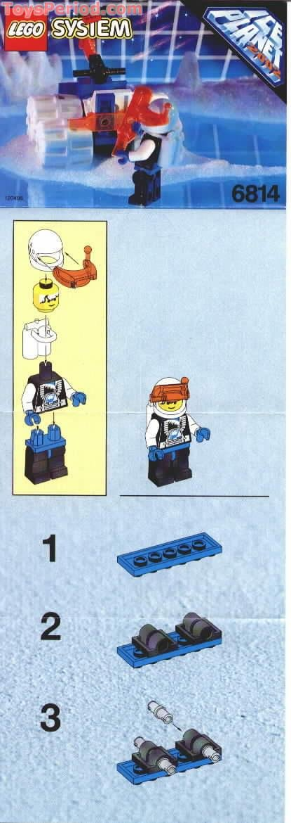 lego ice planet instructions