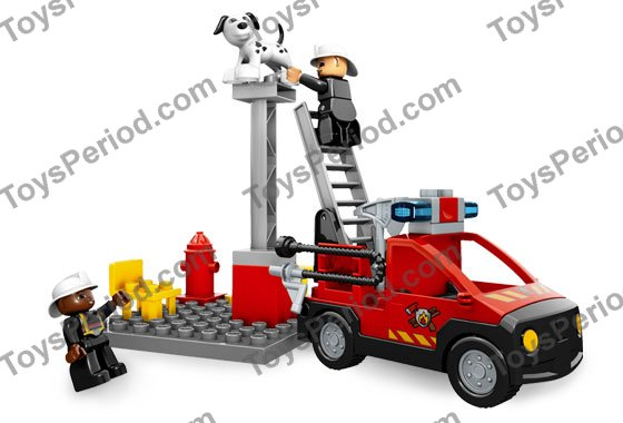 Lego 5601 Fire Station Set Parts Inventory And Instructions Lego