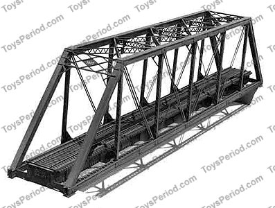 Central Valley 1902 150 Foot Ho Scale Pratt Truss Bridge Kit Pi 719