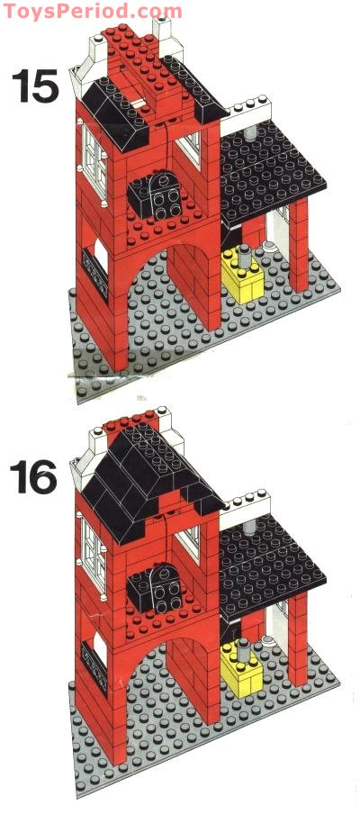 LEGO 1620-2 Chocomel Promotional Set, Factory Set Parts