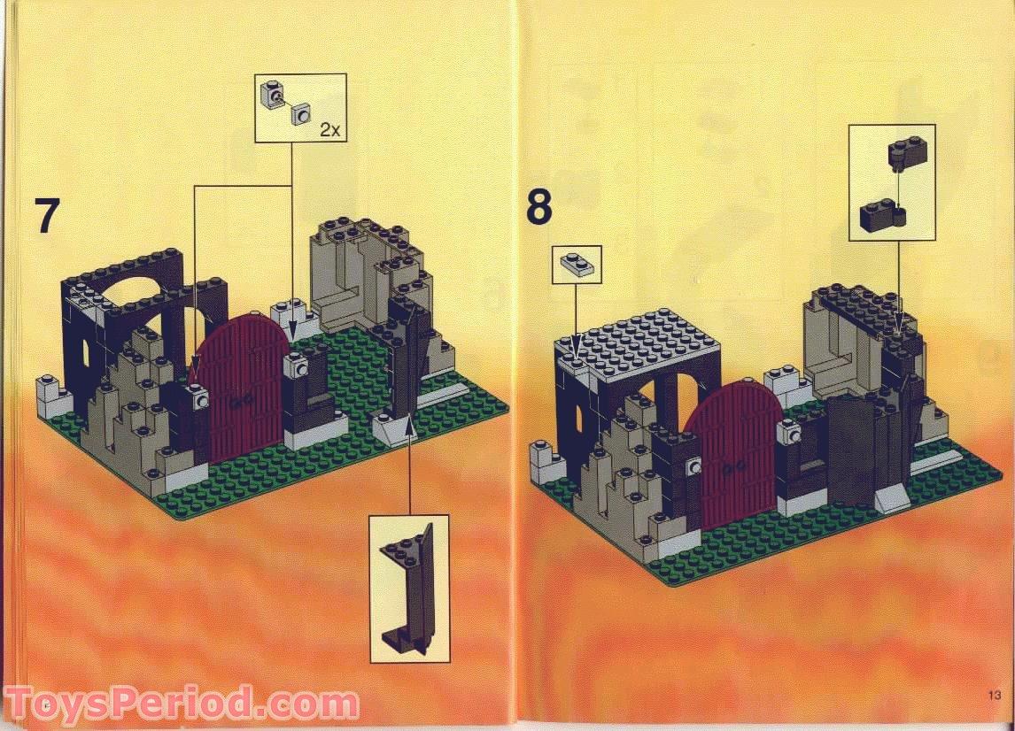 lego dragon head instructions