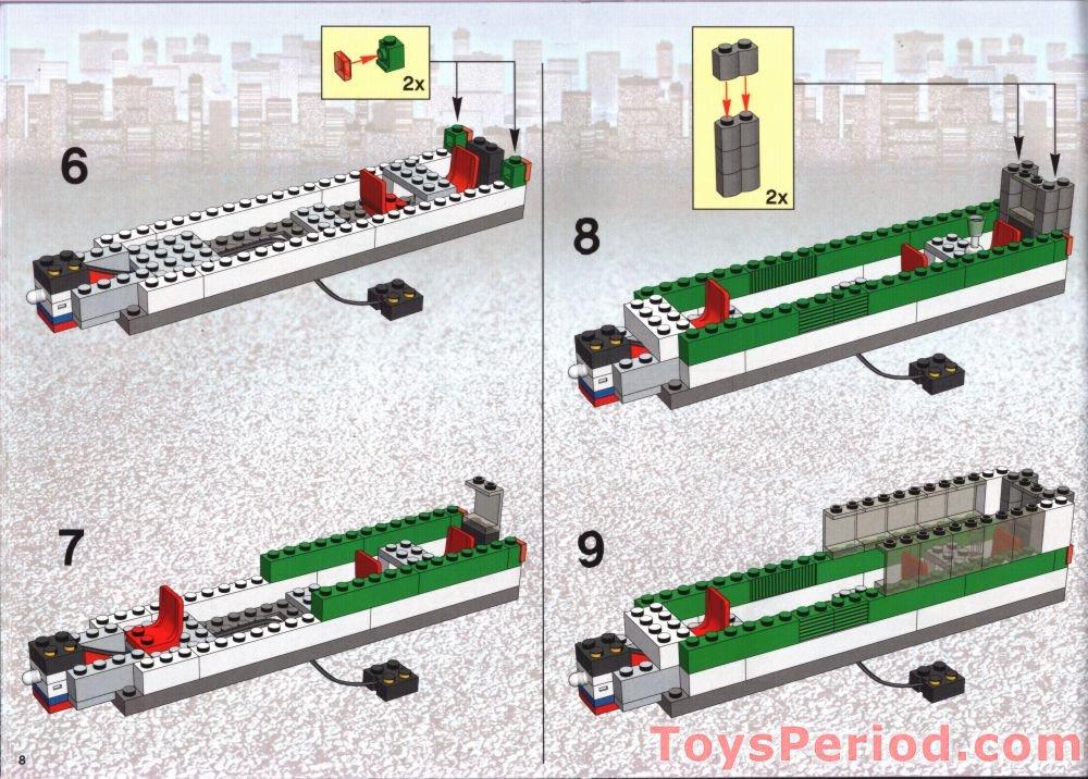 lego train set 60052 instructions