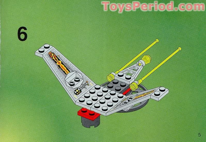 lego v wing instructions