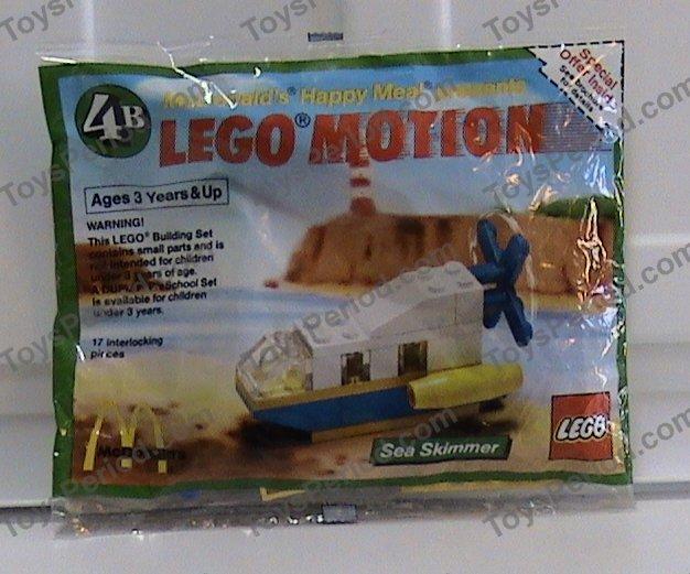 LEGO 1649-1 McDonald's Promotional Set, LEGO Motion 4B Sea