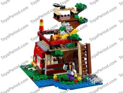 Lego Treehouse Instructions Lego Treehouse Adventures Instructions