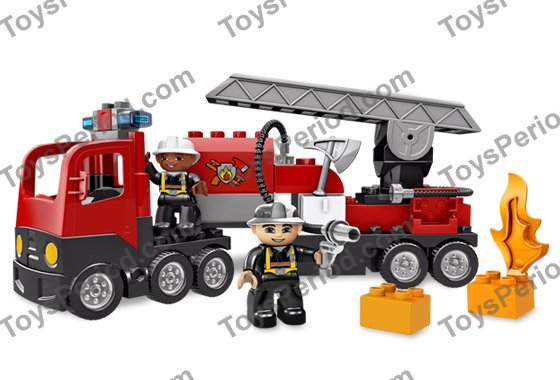 Lego 4977 Fire Truck Set Parts Inventory And Instructions Lego