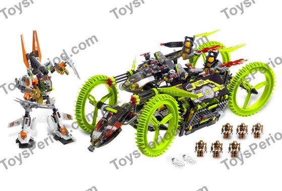 59521 Lego Technic Lime Green Gear Mobile Devastator Wheel