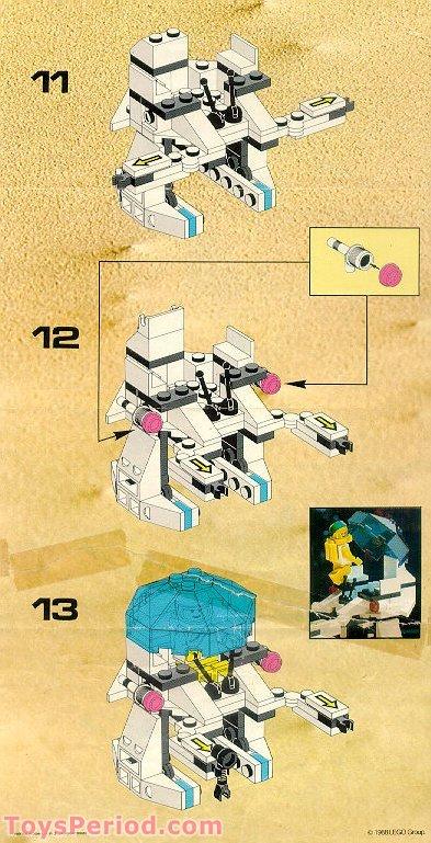 Lego 6848 1 Strategic Pursuer Set Parts Inventory And